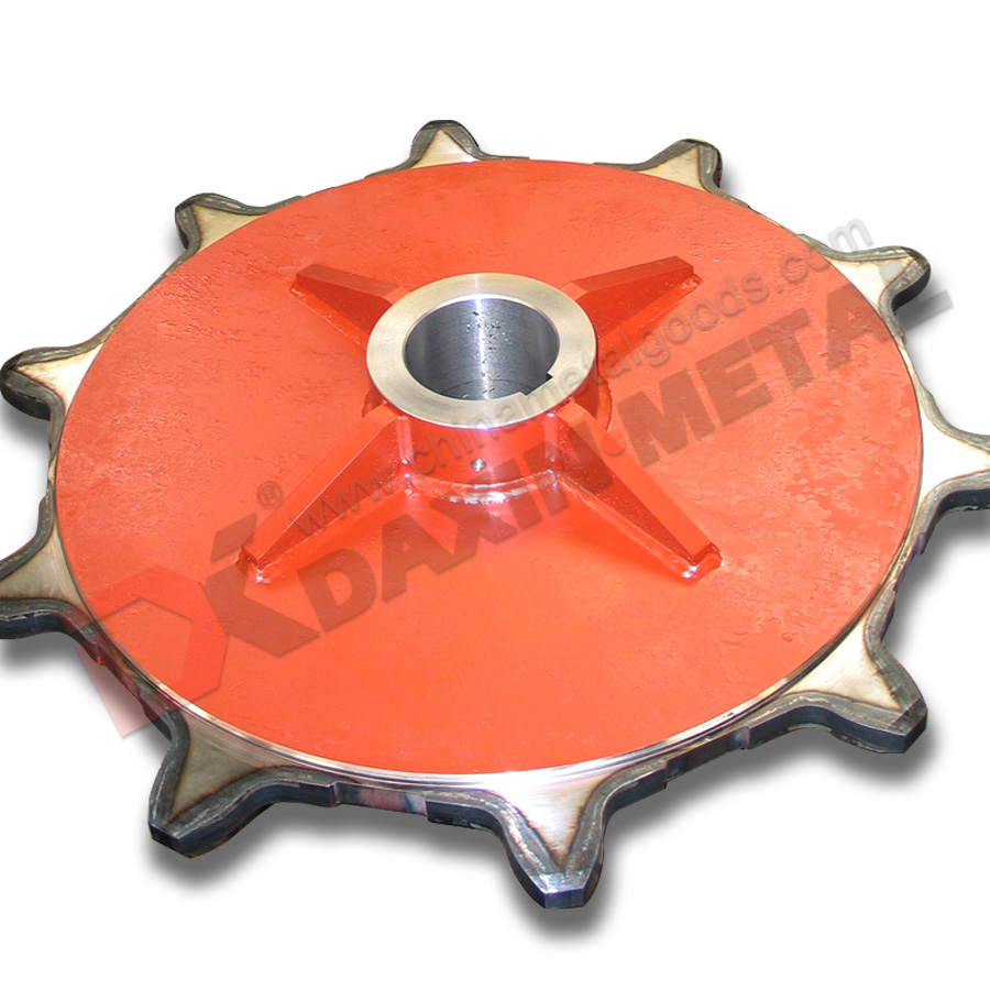 Ductile cast iron sprockets professional manufacturer